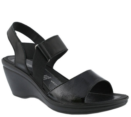 Flexus by Spring Step Leather Sandals - Karan