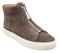 Frye Leather High Top Sneakers - Lena Zip High - A343227