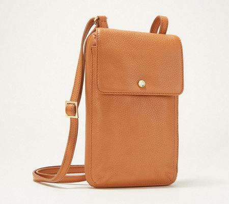 G I L I Cruise Pebble Leather Small Crossbody