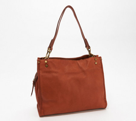 American Leather Co. Glove Leather Shopper - Lenox