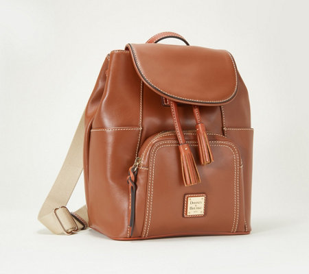 """As Is"" Dooney & Bourke Smooth Leather Medium Backpack- Murphy"