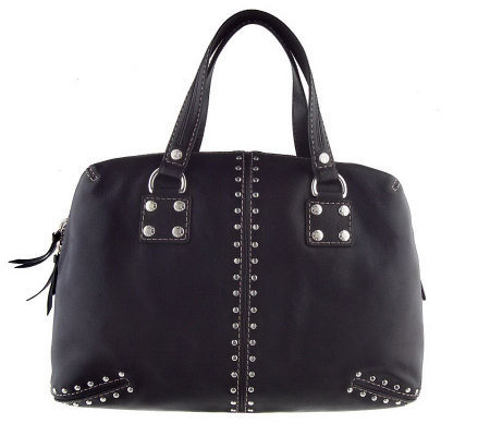 1bc36a40ee99 MICHAEL Michael Kors Astor Studded Leather Large Satchel - Page 1 ...