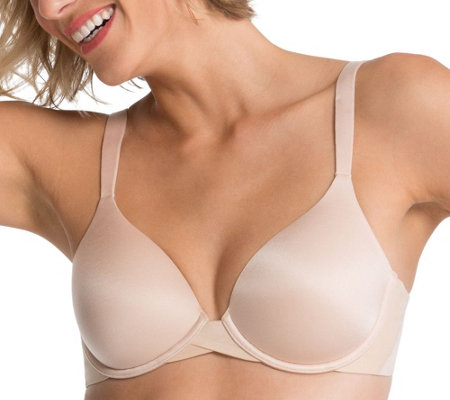 28aeb34bef6a3 Spanx Pillow Cup Lightly Lined Full Coverage Bra - Page 1 — QVC.com