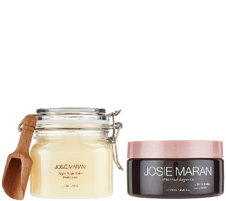 Josie Maran Argan Oil Nourishing Body Butter & Sugar Scrub