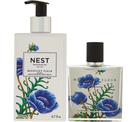 NEST Fragrances 1.7 oz Eau de Parfum & Moisturizing Body Milk Duo