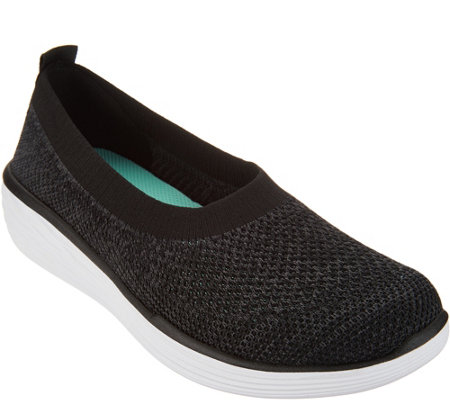 Ryka Heather Knit Slip-On Shoes - Nell — QVC com
