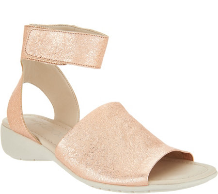 The Flexx Leather Ankle Strap Sandals - Beglad
