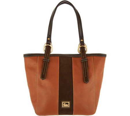 """As Is"" Dooney & Bourke Florentine & Suede North/ South Tote"
