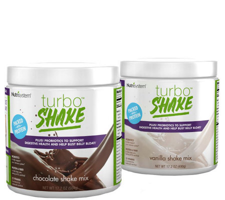Nutrisystem 28 Days of Chocolate & Vanilla Shakes