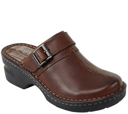 Eastland Leather Clogs Mae