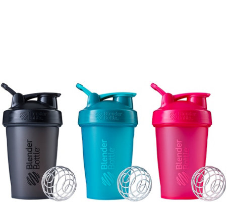 BlenderBottle Set of 3 Classic 20-oz. Bottles