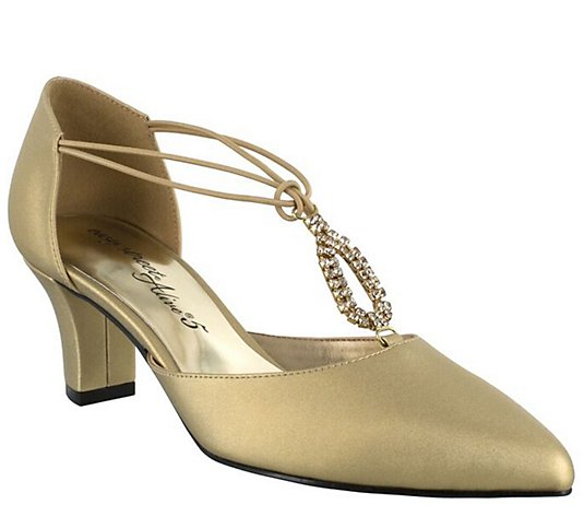 Easy Street Evening Pumps - Moonlight