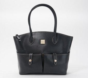 Dooney & Bourke Saffiano Leather Crescent Tote - A365628