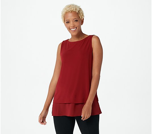 Every Day by Susan Graver Regular Liquid Knit Tunic