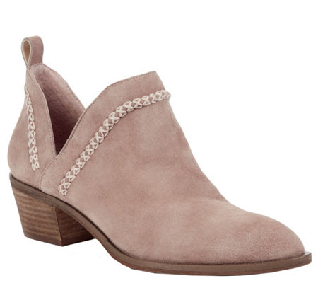 Sole Society Cutout Booties - Nikkie
