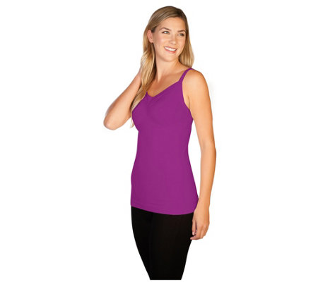 skinnytees Missy Ruched Front Tank