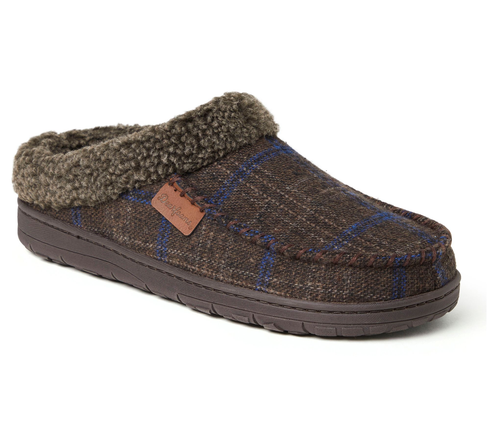 Save 47% on comfy suede slippers
