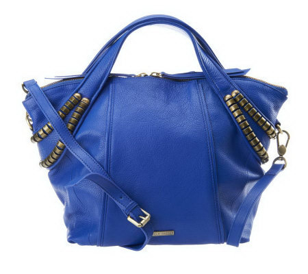 Kelsi Dagger Stellan Pebble Leather Convertible Satchel