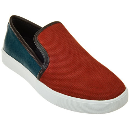 LOGO by Lori Goldstein Slip-on Sneakers with Goring