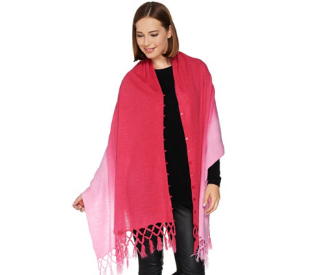 Layers by Lizden Marvelush Ombre 3-in-1 Poncho
