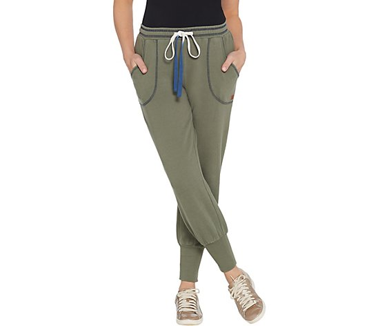 Peace Love World Saltwashed Fleece Pull On Jogger Pants