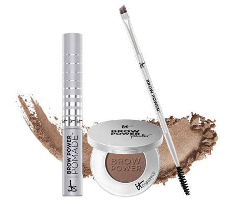 It Cosmetics Brow Power Powder Brow Power Pomade With Brush