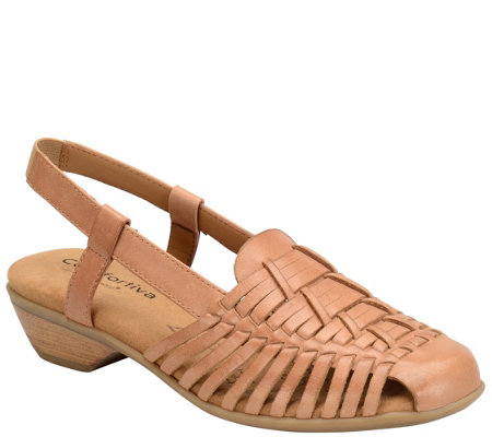 Comfortiva by Softspots Leather Huarache Sandals - Regina