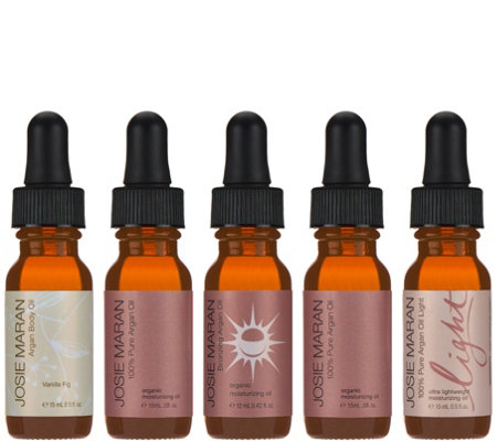 Josie Maran The Best of Argan Oil 5-Piece Starter Collection