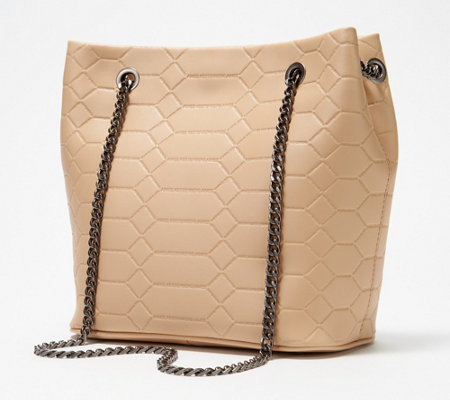 Aimee Kestenberg Leather Chain Convertible Crossbody