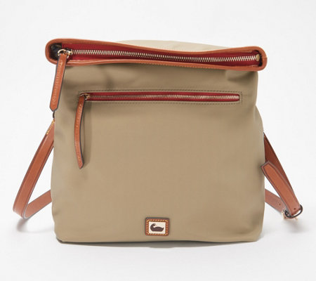 Dooney & Bourke Wayfarer Nylon Flapover Crossbody