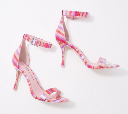 Katy Perry Glitter Heeled Sandals - The Melly