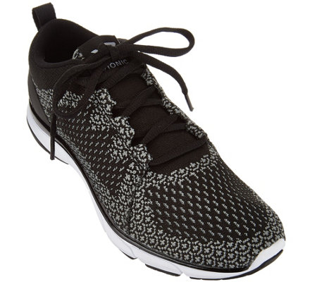Vionic Mesh Lace-up Sneakers - Sierra