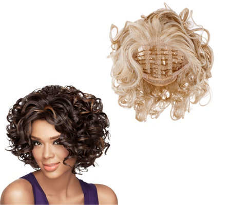 LUXHAIR by Sherri Shepherd Soft Curl Lace Front Wig
