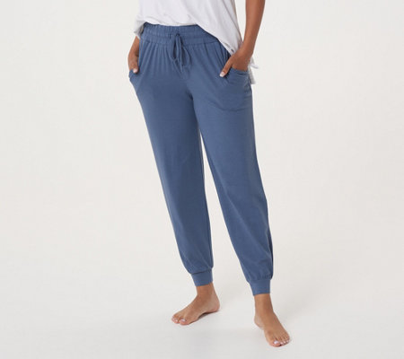 """As Is"" Anybody Loungewear Petite Cozy Knit Jogger Pants"