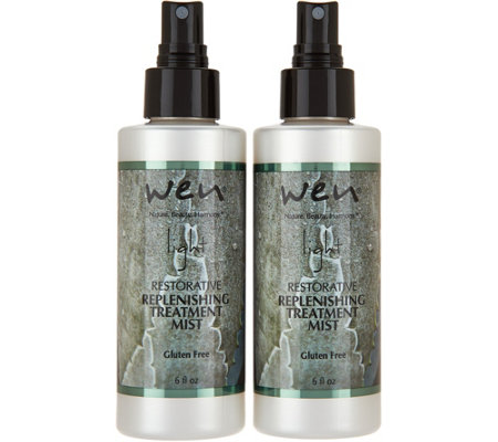WEN by Chaz Dean Light Replenishing Treatment Duo