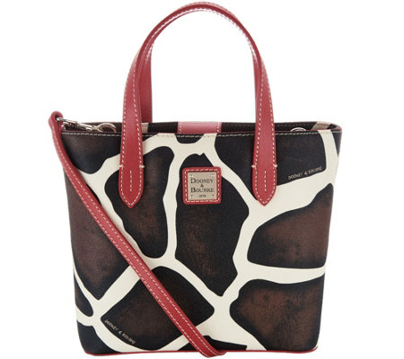 Dooney & Bourke Animal Print Mini Waverly Crossbody