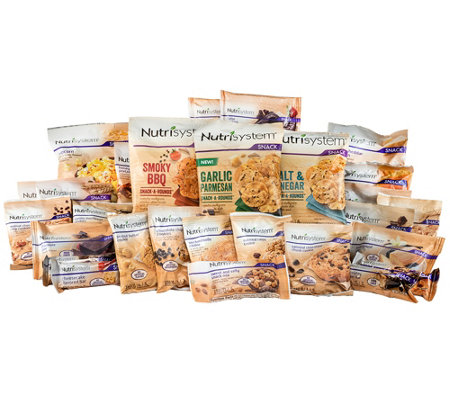 Nutrisystem 28 Days of Sweet & Salty Snacks