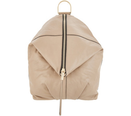 As Is Vince Camuto Leather Backpack Alder