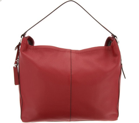 """As Is"" Vince Camuto Leather Hobo Handbag - Leany"