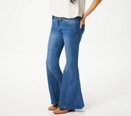 Women with Control My Wonder Denim Regular Flare Jeans-Indigo