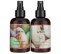 WEN by Chaz Dean Set of 2 Fall Seasonal Replenishing Treatment Mist - A347730