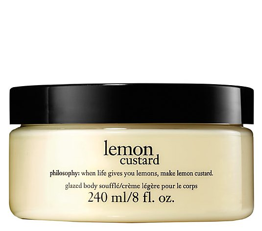 philosophy glazed body souffle, 8 oz