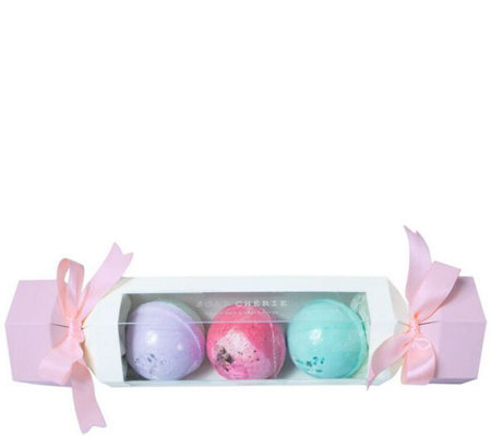 Soap Cherie Bath Fizz Bomb Trio Set