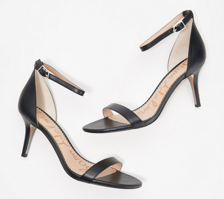 9e871991fef4 Sam Edelman Ankle Strap Heeled Sandals - Patti — QVC.com