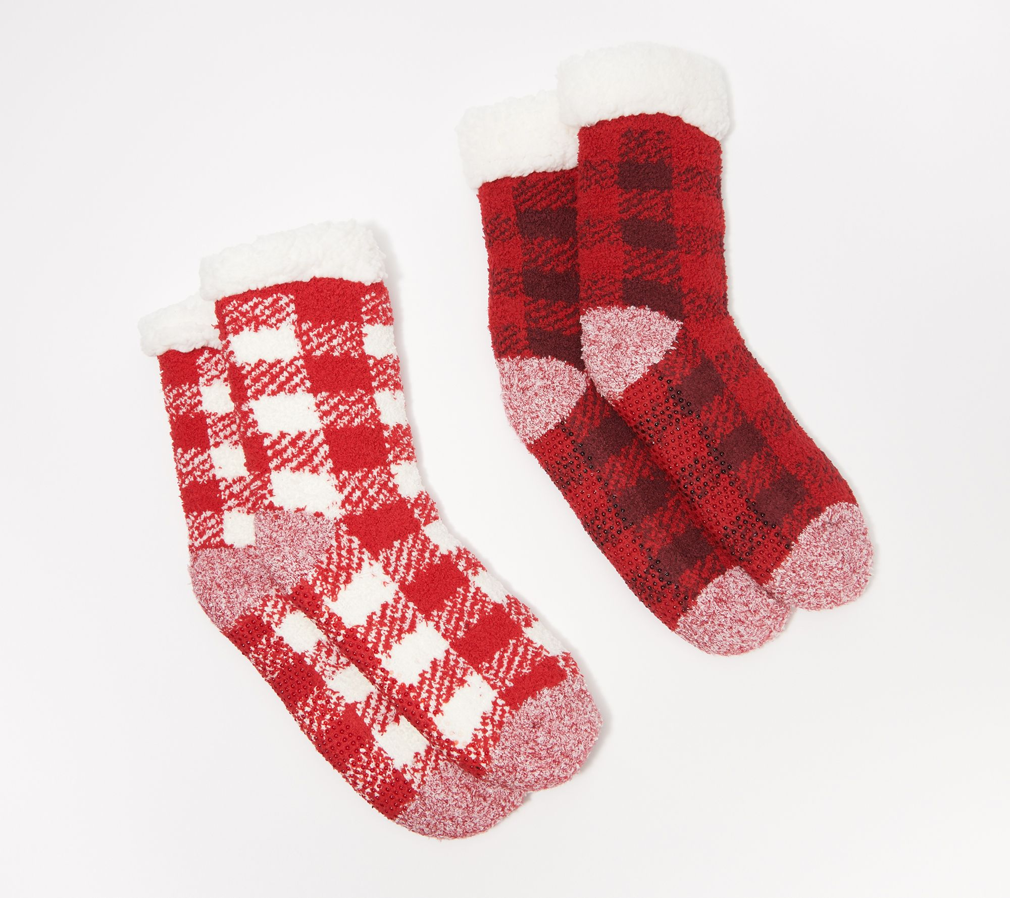 Keep your feet warm with sherpa lined socks