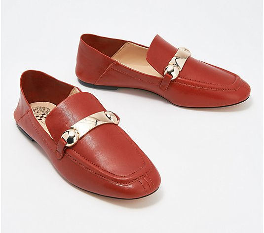 Vince Camuto Leather Slip-On Loafers - Padaire
