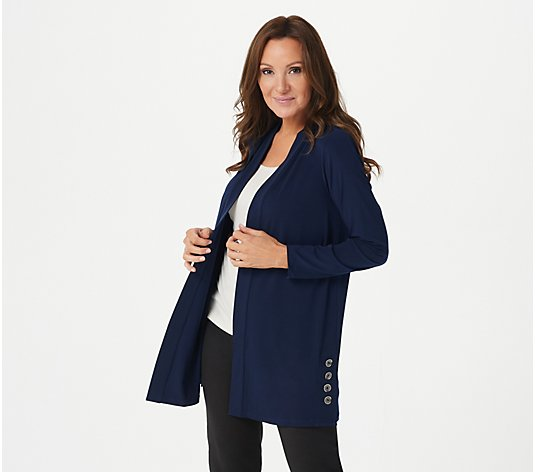 Every Day by Susan Graver Regular Liquid Knit Cardigan