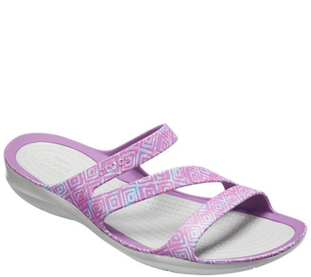 Crocs Sandals - Swiftwater Graphic