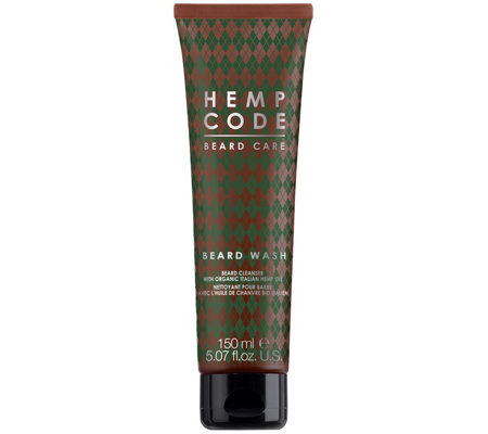 Hemp Code Beard Cleanser With Italian Hemp Oil