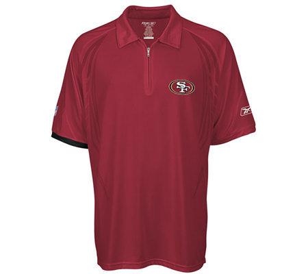 46b0d5304 NFL San Francisco 49ers Head Coaches Shield Polo — QVC.com